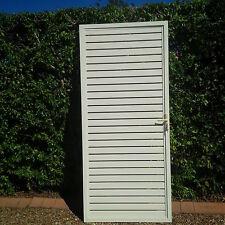 1 Ready Made Aluminium External Shutter Panel 510 mm w x 370 mm h Verandah Patio