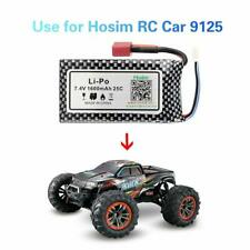 Hosim 2S 7.4V 25C 1600mAh Li-Po Rechargeable Battery Pack For RC Car Truck 9125