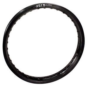 D.I.D DID STD Original REAR Back Rim Wheel 2.15 x 19 Dirt Star Black 19X215VB01H
