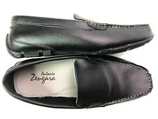 Antonio Zengara Salvo Mens Shoes Slip On Black Size 9.5 M