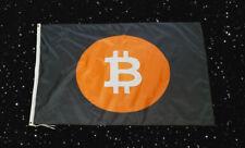New Bit coin BTC Logo High Quality Polyester Flag Banner Sign 3 ft x 5 ft - 3x5