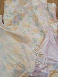 Vintage Laura Ashley Single Duvet Cover Pillowcase & Pillowcase. Reversible