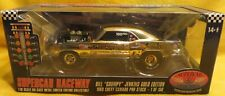 GOLD PLATED 1969 Camaro Bill Jenkins Grumpys Toy Supercar Collectibles Ertl 1/18