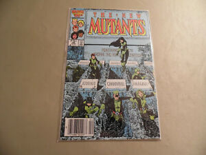 New Mutants #38 (Marvel 1986) Newsstand Variant / Free Domestic Shipping