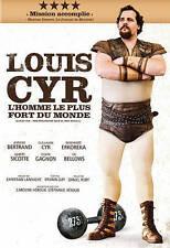 Louis Cyr: L'homme le plus fort du monde (DVD, 2013)  FRENCH AUDIO - ENGLISH SUB