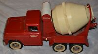 Vintage 1960s Tonka Cement Mixer Truck Pressed Steel