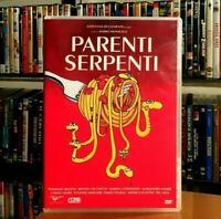 Parenti Serpenti (1992) MARIO MONICELLI Alessandro Haber DVD COME NUOVO