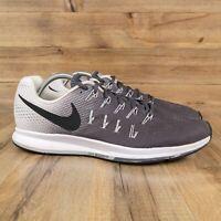 Nike Zoom Pegasus 33 Mens Casual Sneaker Shoes 10.5 - Gray White - 831352-002