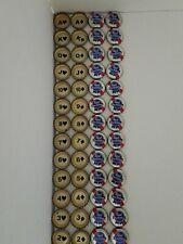 Pabst Blue Ribbon Poker Bottle Caps (B01)