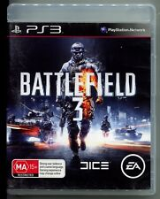 Battlefield 3 PS3 Game with manual