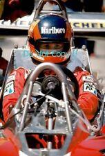 Gilles Villeneuve Ferrari F1 Portrait Photograph 6