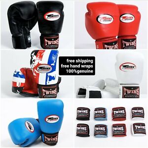 Twins boxing gloves BGVL3 +free twins hand wraps (4m)