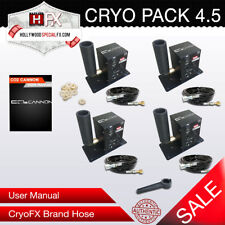 CryoPack4.5 Dmx 512 Switchable Cryo Jet Co2 Jet - Fog Kryo Cannon - Cp4