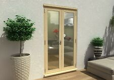PATIO FRENCH DOORS - 4ft 1200mm 54mm - 1.4 U-VALUE - SUPPLIED UNFINISHED