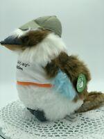 Backyard Buddies, Bird, Kookaburra, Plush Toy, 33cm Tall, Australian Native