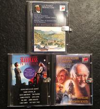 3 Sony Mini Disc Empty Cases John Williams, Elmer Bernstein, Sleepless In Seattl