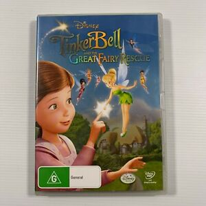 Tinker Bell And The Great Fairy Rescue (DVD 2010) Region 4