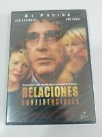 Relaciones Confidenciales Al Pacino Tea Leoni DVD Español English Nueva