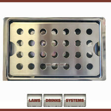 More details for stainless steel beer drip tray 5 x 8