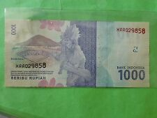 Indonesia 1000 Rupiah 1st Replacement 2016 (UNC) XAA 029858