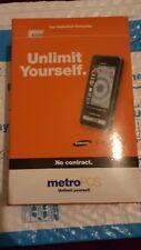Samsung Finesse SCH-R810 - Black (MetroPCS) Cellular Phone