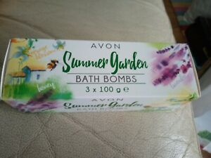 New Ideal Xmas Gift Avon Summer Garden Bath Bombs Honey Lavender And Orange...