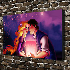 Disney Tangled Painting HD Print on Canvas Home Decor Picture Wall Art Poster