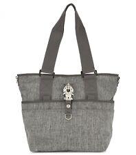 GEORGE GINA & LUCY Nylon Baby Baby2love Wickeltasche Tasche Grey Melange Grau