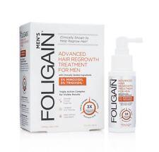 FOLIGAIN Advanced Hair Regrowth Treatment for Men 5 Minoxidil 5 Trioxidil 2 Oz
