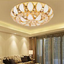 D60cm Modern Crystal LED Ceiling Light Pendant Lamp Fixture Lighting Chandelier