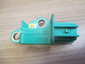 AIRBAG CRASH Sensor Audi A4 A6 Q7 Golf 5 Querbeschleunigungssensor 1K0909606C
