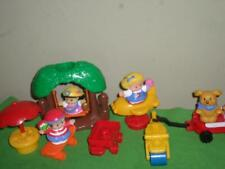 Fisher Price Little People Tree Swing Discovery Village Skateboard VHTF RARE LOT