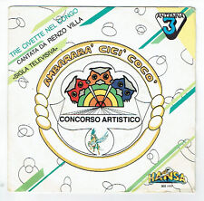 """Renzo VILLA -Manuel FRANCIOSA Vinyl 45T 7"""" Giri THE CIVETTE NEL CONGO -BALLA BA'"""