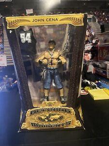 WWE DEFINING MOMENTS ELITE JOHN CENA MATTEL WRESTLING FIGURE NEW