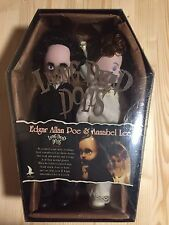 Living Dead Dolls EDGAR ALLAN POE and ANNABEL LEE New And Sealed.