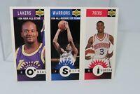 ALLEN IVERSON Rookie 96-97 Upper Deck Minis #M152 RC Shaquille O'Neal Joe Smith