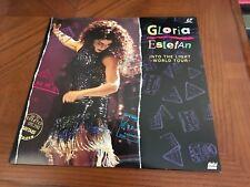 GLORIA ESTEFAN INTO THE LIGHT WORLD TOUR LASERDISC