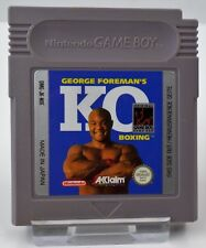 Nintendo Game Boy gb-KO Boxing + Blades of Steel