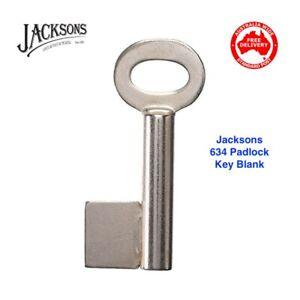 JACKSONS Padlock Key Blank-634 Jackson -Free Postage In Australia