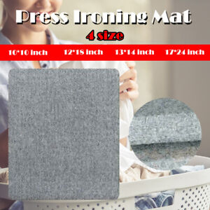 Gift Portable Press Ironing Mat Felt Pad New Zealand Wool Pressing Mats 4 Size