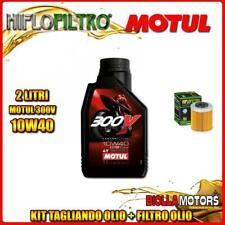 KIT TAGLIANDO 2LT OLIO MOTUL 300V 10W40 KTM 690 Enduro R 1st Oil Filter 690CC 20