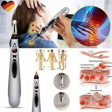Elektrisch Akupunkturstift Therapie heilend Meridian Energie Massage Stift Neu