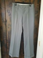 BANANA REPUBLIC WOMENS PANTS Slate Gray SIZE 6R NWOT