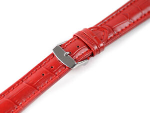 GENUINE LEATHER WATCH STRAP EXTRA LONG CROCOLOOK XXL 18 ,20,22,24,26, 28 MM