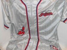 Mens XL ESCO Zip Down Cleveland Indians #67 Stitched Athletico Baseball Jersey
