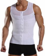 Joweechy Men Vest Tops Tummy Control Body Shaper Slimming Undershirt Base Layer