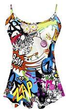 Bauchfreie Damenblusen, - tops & -shirts mit Trägern