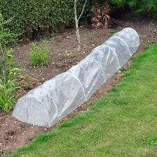 POLY TUNNEL CLOCHE MINI GREENHOUSE GARDEN GROW PROTECT PLANT 1.5M X 45cm X 42cm