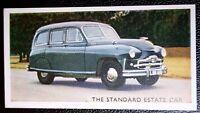 Standard Vanguard  Estate    Original Vintage  Coloured Card   VGC