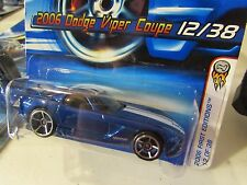 Hot Wheels 2006 Dodge Viper Coupe #012 2006 First Editions Blue